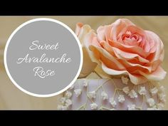 SWEET AVALANCHE ROSE Tutorial | By Ilona Deakin from Tiers Of Happiness - YouTube
