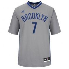 NBA ブルックリン・ネッツ ユニフォームオルタネート Adidas 半袖 #7 ジョー・ジョンソン - サッカーユニフォーム専門店|NBA・MLB・NFL|スポーツ用品通販