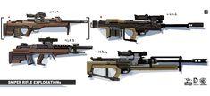 Sniper Rifle from Batman: Arkham Origins