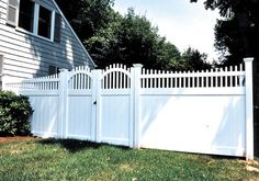 Double crowned southport signature gates #fence #fencing #yard #backyard #outdoor #home #house #landscape #landscaping