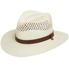 7f2f83d468b Stetson Digger Vented Straw Outback Hat
