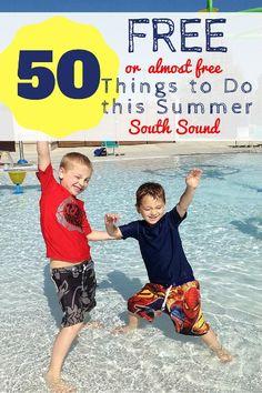 Things to Do for FREE this Summer Tacoma, Puyallup, Federal Way, Bonney Lake, Lakewood, Auburn, Renton, Kent