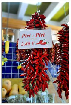 A Lot of Hot at the market, Lagos, Algarve, Portugal