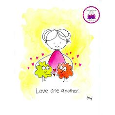 love one another, BLOG. Inspiration, beauty, kindness, support and soul encouragement in cartoon…