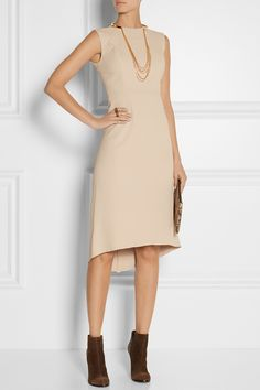 VICTOR ALFARO Paneled stretch-cady dress €1070.85 http://www.net-a-porter.com/products/486285