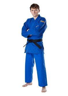 JudoGi DAX Tori Gold Niebieskie