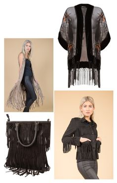 """SS16 Fringing"" by jayley15 on Polyvore featuring Jayley"