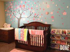 {UNDONE} Awesome Nursery Mural!