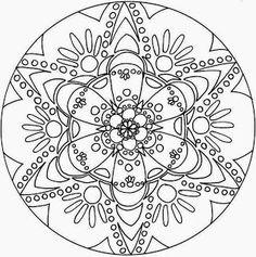 Mandalas Para Pintar: mandalas para colorear                              …