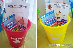 Brown Bear Birthday Party: Party Favors
