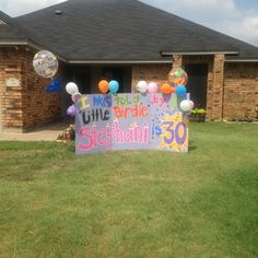 I Didnt Do This But Cute Idea Someone Surprised Me With For My 30th Birthday