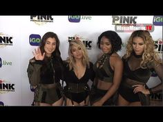 'Fifth Harmony' Stunning on the Red carpet at iGo.live App Launch