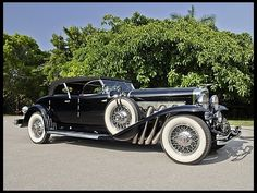 1930 Duesenberg Model J Torpedo Phaeton Upgraded Coachwork by Fran Roxas of Chicago