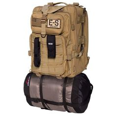 The Echo-Sigma Emergency Bug-Out-Bag (BOB) is a full size emergency preparedness kit that is designed to be kept in the home or office. The unique vertical storage configuration with custom draw string dust cover enables you to easily store your BOB in any unobtrusive location you wish while maintaining access to 95% of the kit's contents at a moments notice. Kit Contents - Echo-Sigma Bug Out Pack - Hydration Bladder Drinking System (2.5 Liter) - SOG S62 Power Lock Stainless Multi-Tool w/18…