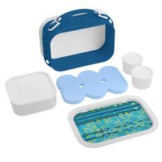 Blue Like Water lunchbox