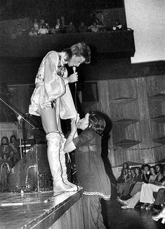 David Bowie - Ziggy Stardust Tour - 1973