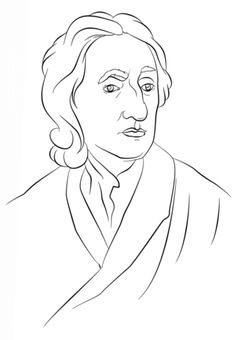 John Locke Philosophy Coloring Page