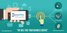 Whether it's having a #MobileApp presence or making the most of other digital opportunities - #Appynitty is your answer to increasing Digital Sales.