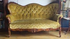 Rokoko soffa säng mm