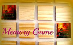 50% off Handcrafted Greg Olsen Memory Board Game, $35