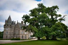 Le parc du Château de Bonnefontaine à Antrain (stenphoto.fr).