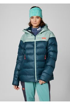 Buy Helly Hansen Teal Glacier Down Jacket from the Next UK online shop Helly Hansen, Next Uk, Teal, Blue, Uk Online, Winter Jackets, Clean Design, Stuff To Buy, Shopping