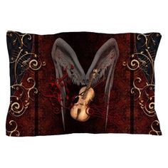 Violin with bow and clef Pillow Case by nicky - CafePress Violin, Color Combinations, Pillow Cases, Bows, Pillows, Music, Prints, Party, Fun