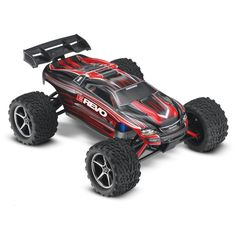 1/16 E-Revo Brushed RTR with TQ 2.4GHz, Red