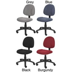 @Overstock - This Boss posture chair is a great seating option for your office. Available in four color options, you are sure to find the right look for your space.http://www.overstock.com/Office-Supplies/Boss-Deluxe-Posture-Chair/4808550/product.html?CID=214117 $57.00