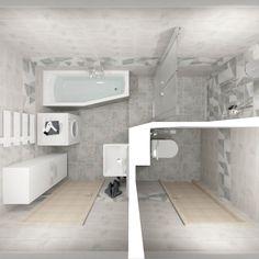 Dlažba Modesto #koupelnygres #3ddesign #bathroomdesign #bathroomvisualization #ceramikagres #modesto Bathtub, Bathroom, Home Decor, Standing Bath, Washroom, Bathtubs, Decoration Home, Room Decor, Bath Tube