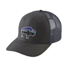 CHECK - FITZ ROY BISON TRUCKER HAT, Forge Grey (FGE)