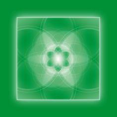 """Der Schlüssel """"Ideengarten"""" zeigt ein Quadrat das eine Konstruktion aus der Blume des Lebens eingrenzt. Aus der Blume des Lebens lassen sich unendlich viele Formen konstruieren. Das Quadrat ist ein Feld. Wer es betritt, kann sich kaum retten vor einer Vielfalt an Konzepten, die alle noch realisiert werden wollen. Alles ist möglich, aber noch nichts realisiert. Die Frage """"warum eigentlich nicht?"""" lässt Unmengen von Ideen wuchern. Rosen und Unkraut – dicht an dicht. Auswählen kommt später."""