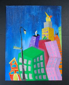 that artist woman - another example of surreal skylines :)