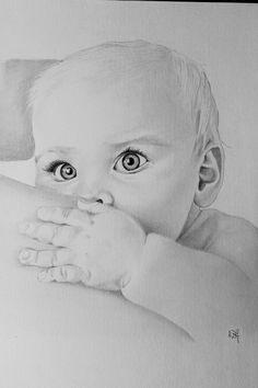 Coloring for adults - kleuren voor volwassenen .sruju рисунки цветными к Baby Drawing, Painting & Drawing, Pencil Art Drawings, Drawing Sketches, Colouring Pages, Adult Coloring Pages, Children Sketch, Baby Illustration, Baby Fairy