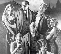Vampires: the masquerade Vampire The Masquerade Bloodlines, Vampire Masquerade, Wolf World, World Of Darkness, Creatures Of The Night, White Wolf, Dracula, Storyboard, Character Inspiration