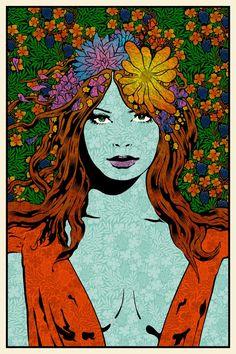 "Chuck Sperry #Art - ""Mystai"" (Blue Paper Edition)"