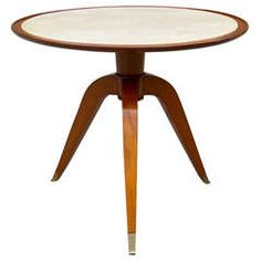 Side Table By Maurice Jallot - Possible Entry???