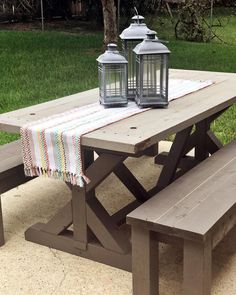Farmhouse outdoor tr