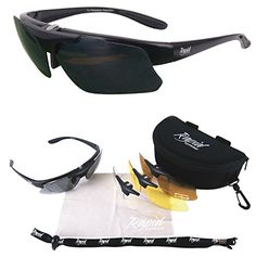 6c450f97442 Amazon.com  Pro Performance Plus Rx Sports Sunglasses Frame for Spectacle  Wearers  Clothing. Sports SunglassesSunglasses AccessoriesMale ...