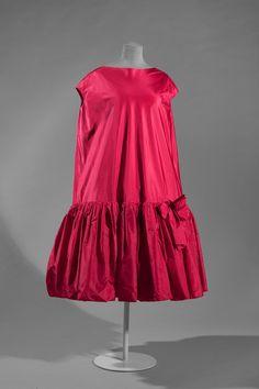 1958 Balenciaga, Baby Doll cocktail dress,