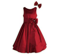 Candy Apple Shimmer taffeta dress for all her special occasions,holidays,etc.A WOODEN SOLDIER exclusive.