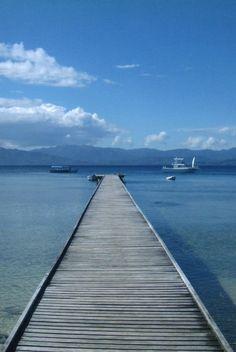 Dock in Savusavu, Fiji