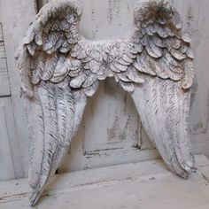 Hey, I found this really awesome Etsy listing at https://www.etsy.com/listing/188255142/large-angel-wings-wall-sculpture-hand