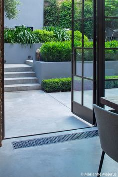 Canalside Garden Charlotte Rowe Garden Design – Famous Last Words Modern Garden Design, Contemporary Garden, Patio Design, Landscape Design, Backyard Patio, Backyard Landscaping, Backyard Ideas, Backyard Layout, Backyard Furniture