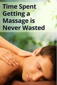 Time spent getting a massage is never wasted. #massagetherapy