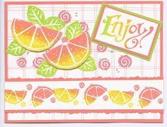 Citrus and Such SU set Pretty Cards, Cute Cards, Scrapbook Cards, Scrapbooking, Birthday Cards For Women, Bird Cards, Paper Cards, Stamping Up, Homemade Cards