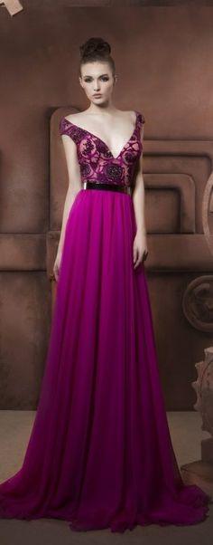 Hassan Mazeh evening dress jaglady