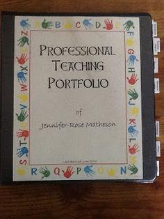 teacher portfolio   ... : Professional Teaching Portfolio ...