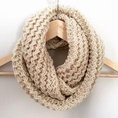 Soft and cozy infinity scarf. Handmade. thescarfroom.etsy.com