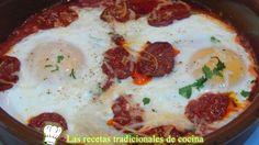 Receta de huevos a la Navarra
